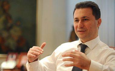 Gruevski: Nuk hidhërohem nga deklaratat e Talatit, nuk është për t'iu hidhëruar (Foto)