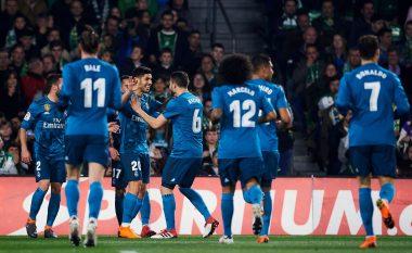 Betis 3-5 Real Madrid, notat e lojtarëve