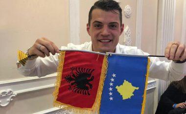 Xhaka i falënderon ata që e festuan 10-vjetorin e Pavarësisë së Kosovës në Londër