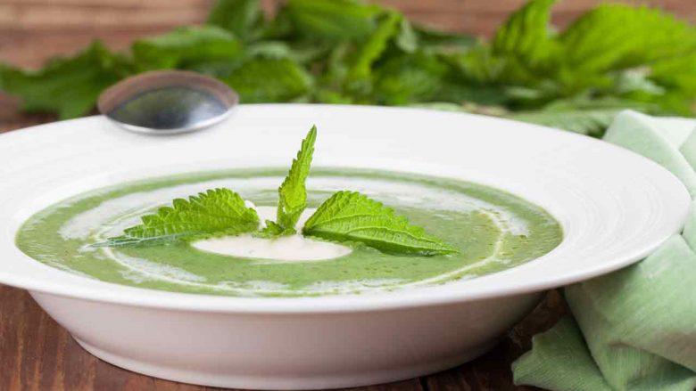 Çorba nga hithrat e reja: Gjellë jashtëzakonisht e shëndetshme dhe e shijshme!