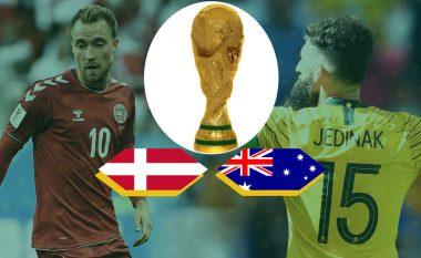 Formacionet zyrtare: Danimarka – Australia