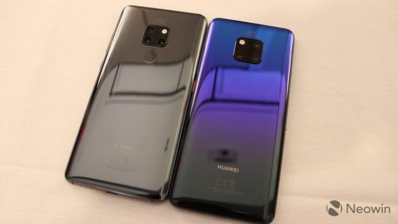 Huawei lanson serinë e re të telefonave, Mate 20 dhe Mate 20 Pro