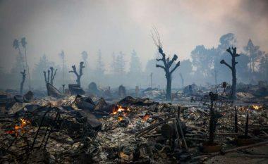Pas zjarrit, Kalifornia përballet me stuhi shiu dhe përmbytje