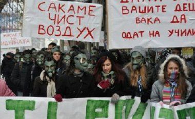 Qytetarët e Kumanovës protestojnë kundër ndotjes së ajrit