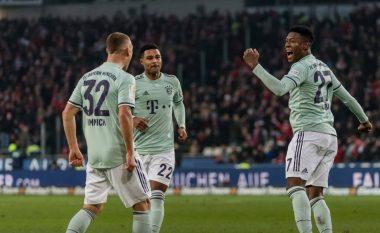Bayerni vazhdon me fitore, triumfon thellë në udhëtim te Hannoveri