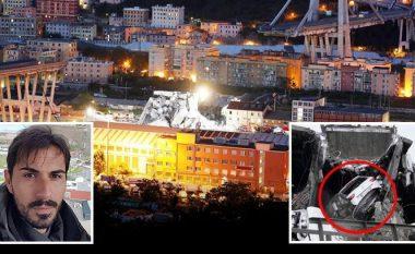 Ish-portieri i Cagliarit i shpëtoi mrekullisht shembjes së urës, vetura e tij ra nga një distancë 80 metra: Ishte si në filma