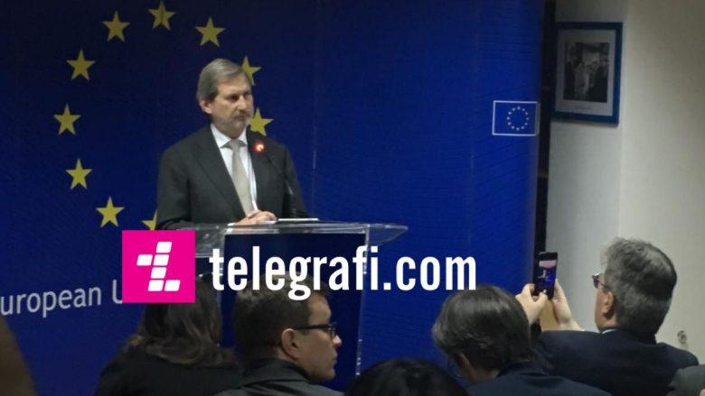 Hahn: Liderët e BE-së dështuan, vendimi negativ mund ta destabilizojë Ballkanin Perëndimor