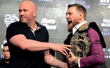 Dana White thotë se është i mundur dueli ndërmjet McGregor dhe Cerrone