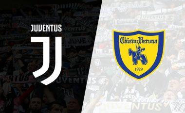 Juventus - Chievo, formacionet zyrtare