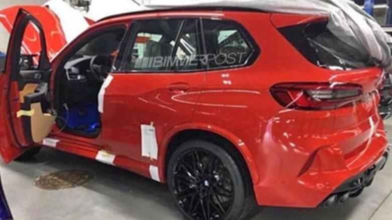 BMW X5 M pa asnjë shtresë kamuflazhi (Foto)