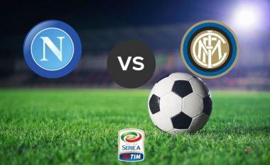 Formacionet startuese: Napoli dhe Interi zhvillojnë kryendeshjen e javës së parafundit