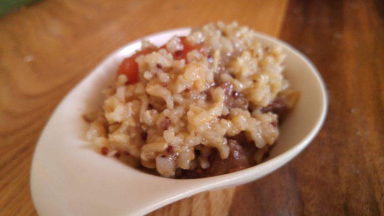 Mish viçi me oriz basmati, quinoa dhe amaranth