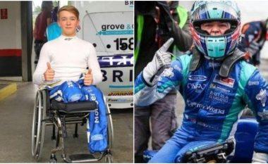 Billy Monger i frymëzon të gjithë - dy vite pasi ia amputuan të dyja këmbët, fiton 'Pau Grand Prixin'