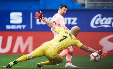 Dy golat e Messit nuk e shpëtojnë Barcelonën nga barazimi me Eibarin