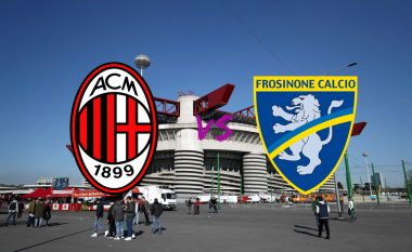 Formacionet zyrtare: Milani në kërkim të triumfit ndaj Frosinones
