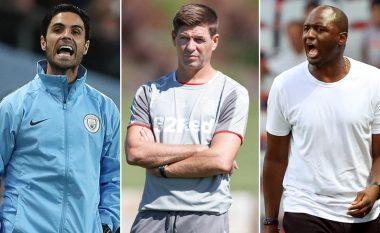 Gerrard dhe Vieira kryesojnë dëshirat e Newcastle, në listë edhe emra tjerë trajnerësh