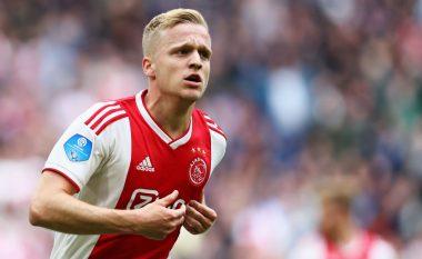 Reali hap bisedimet për transferimin e Van de Beek