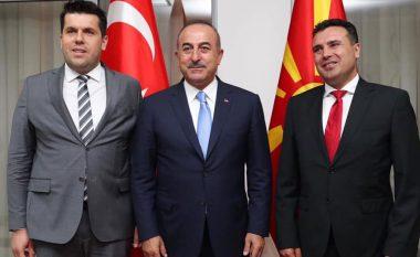 Zaev-Çavushogllu: Mbështetje për integrimet dhe njoftim për investime të reja