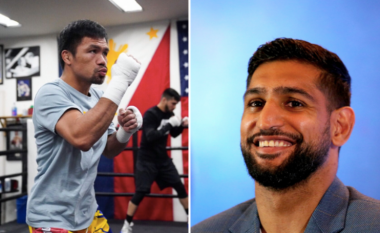 Arrihet marrëveshja për super meçin, Manny Pacquiao - Amir Khan, kontrata është nënshkruar për në nëntor në Arabinë Saudite