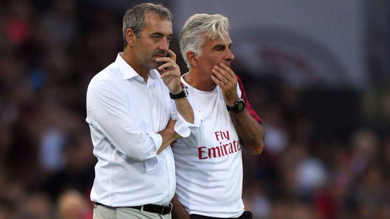 Giampaolo: Nuk mund t'i ndryshoj lojtarët e Milanit