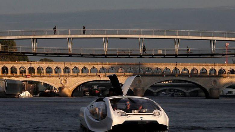 """""""Taksi"""" lundrues prezantohet në Paris, brenda mund të akomodohen katër pasagjerë"""