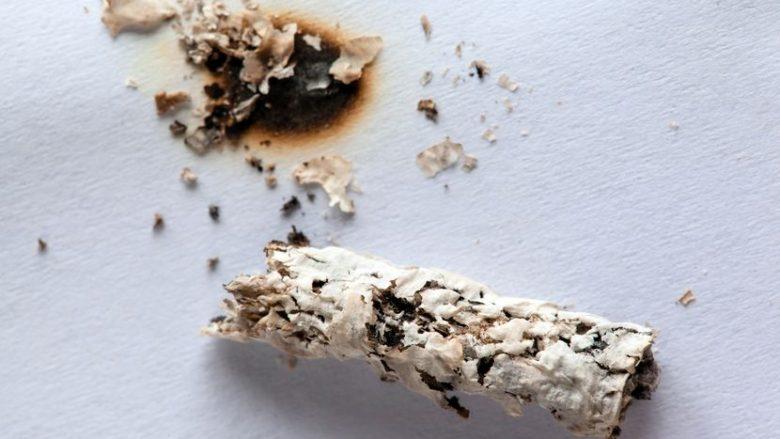 Ju kanë ardhur mysafirë dhe ndonjëri rastësisht me cigare ka djegur mobilien? Qe se si ta eliminoni njollën!
