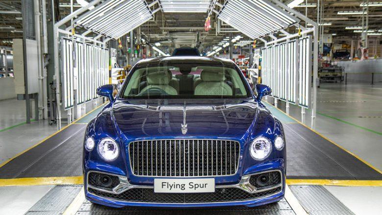 Bentley fillon prodhimin e Flying Spur, makinë e fuqishme me nivel të lartë luksi