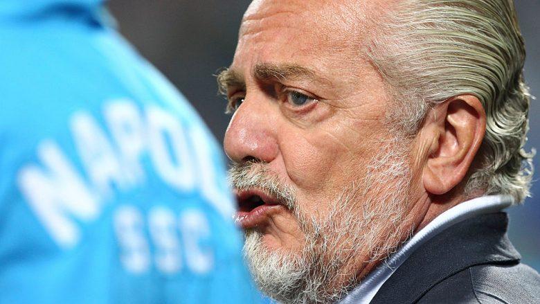De Laurentiis kërkon 900 milionë euro për shitjen e Napolit