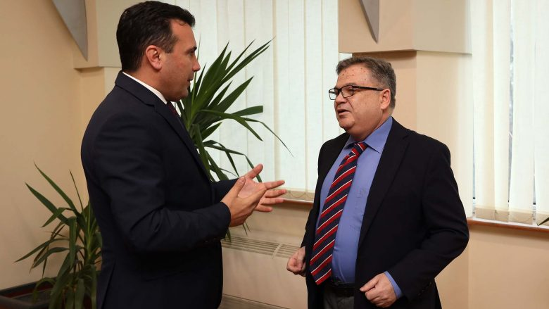Zaev-Thimonier: Është mirë të japim argument shtesë pranë BE-së me miratimin e Ligjit për Prokurori Publike