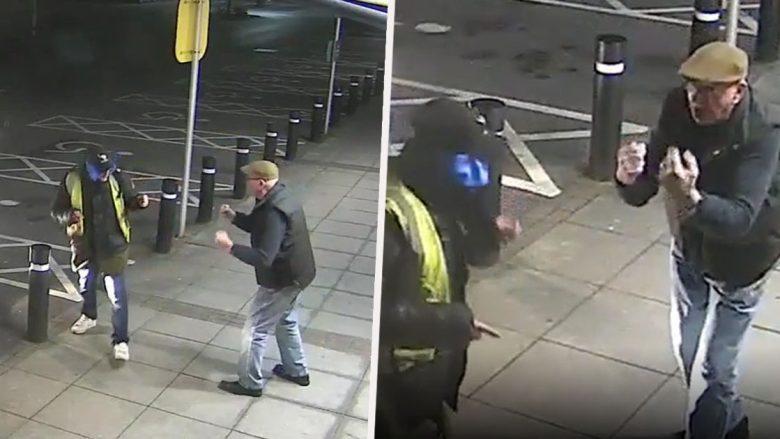 Pensionisti lufton me hajnin, i cili e sulmoi atë para bankomatit