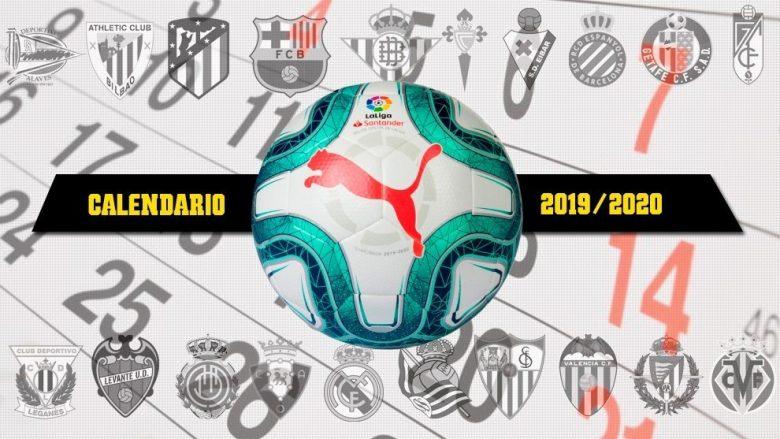 Rikthimi i La Liga-s: 32 ditë me futboll, kalendari i plotë i takimeve
