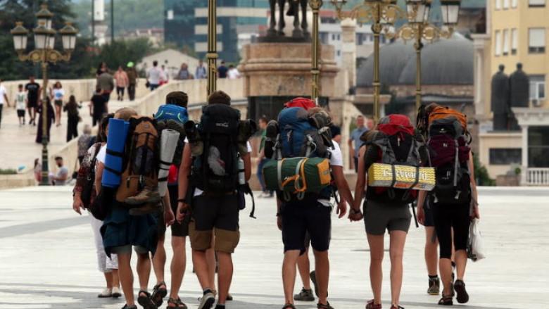 Bie për 95 përqind numri i turistëve në Maqedoni