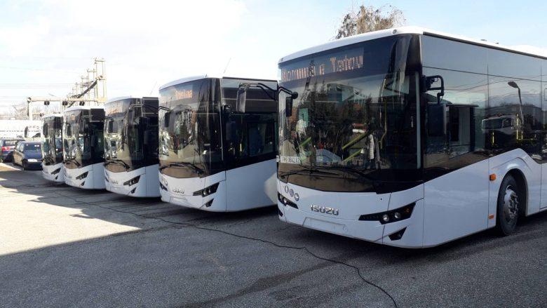 Komuna e Tetovës me autobusë të rinj publik