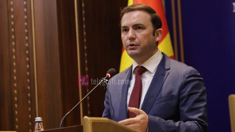 Osmani: Maqedonia e Veriut mbështet integrimin e Kosovës në NATO dhe BE