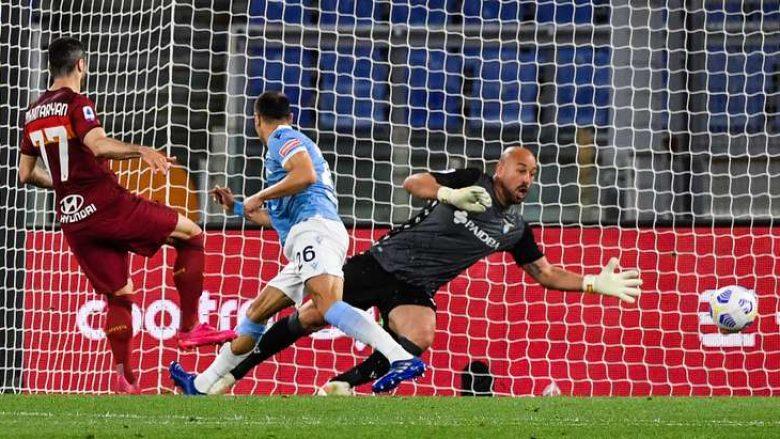 Roma fiton derbin e kryeqytetit ndaj Lazios, Mkhtaryan dhe Pedro vendosin takimin