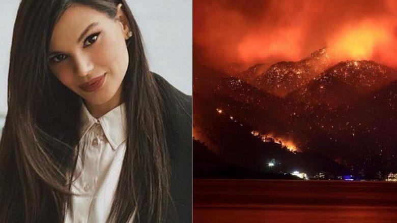Almeda Abazi reagon e shqetësuar për zjarret në Turqi, u bënë thirrje vendeve që të ndihmojnë